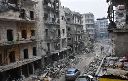 Alep aujourd'hui (Photo G. Ourfalian)