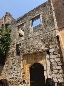 Les maisons juives en ruine